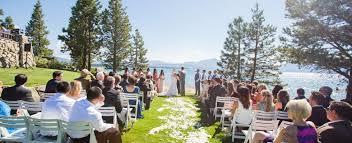 south lake tahoe wedding venues lake tahoe wedding venue lake front weddings at edgewood lake