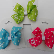 custom hair bows infant hair bows macie s custom bows