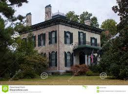 Italianate Style House Italianate Style Historical Home Stock Photo Image 61347497