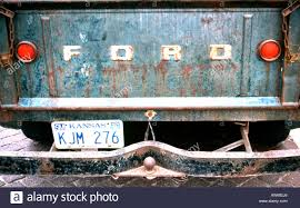 Old Ford Truck Bumpers - old ford pick up truck in usa stock photo royalty free image