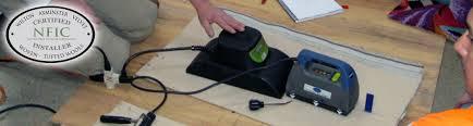 fiber installers certification carpet installation