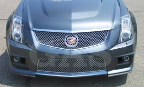 cadillac cts v grill cadillac cts chrome grill custom grille grill inserts chrome grille