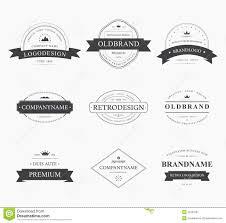 brand logo design brand and logo design tavern badge stock vector image 53767091
