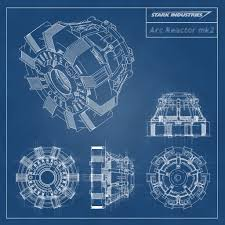 iron man s house iron man stark industries arc reactor blueprint by stntoulouse