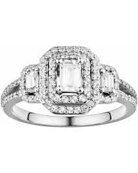 engagement rings sale sale simply vera vera wang diamond halo engagement ring in