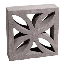 12 in x 12 in x 4 in gray concrete block 100002873 the home depot