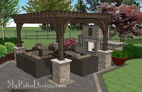 outdoor courtyard courtyard paver patio design with pergola fireplace download