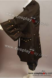 pirates of the caribbean jack sparrow jacket vest belt shirt pants