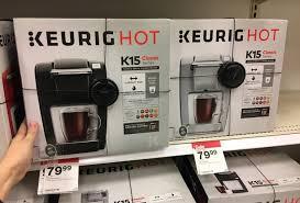 target black friday keurig mini back in stock keurig k50 coffee maker only 44 99 at target