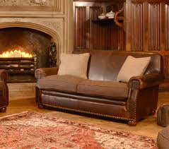 canapé anglais cuir canapé anglais stornoway en cuir et tissus longfield 1880
