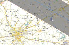 Map Of Dallas Suburbs by Total Solar Eclipse 2017 Path Through The United States