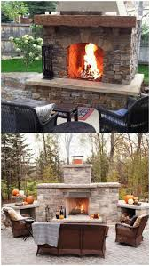 backyards cozy outdoor fireplace kits for the diyer 134 diy