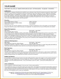Nanny Resumes Samples by Bad Resume Sample Resume For Your Job Application