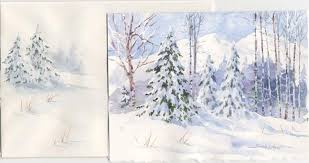 christmas cards in watercolor watercolor christmas card ideas design you own watercolor cards