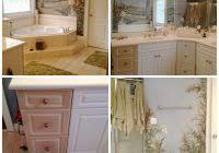Painting Bathroom Vanity Pretty Distressed Bathroom Vanity Makeover With Latex Paint