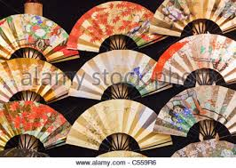japanese fans for sale traditional japanese paper fans for sale at a gift shop in kyoto