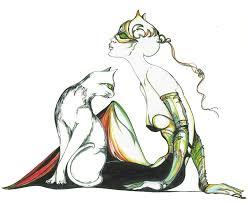 olivia pig famous painter coloring netart clip