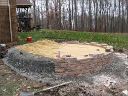 How To Lay Patio Pavers by Laying Patio Pavers On Sand Patios Home Decorating Ideas