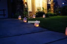 simplejoys milk jar tea lights for halloween