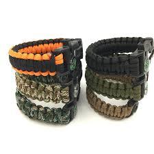 fire survival bracelet images Paracord survival bracelet uno company jpg
