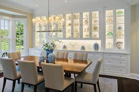 dining room murals lighted china cabinets with wall murals dining room mediterranean