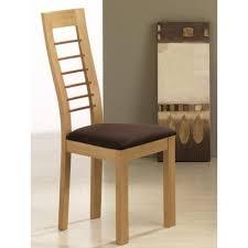 chaise en bois chaise en bois contemporaine cannelle