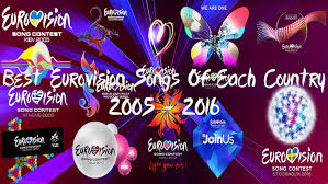 best eurovision songs of each country 2005 2016