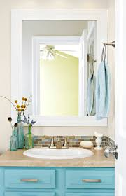 Mirror Ideas For Bathrooms Frame