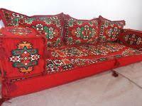 arabisches sofa orientalische sitzecke kilim sitzkissen orientalisches sofa