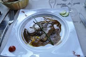 fil de cuisine escalope de foie gras picture of au fil de l eau couze et