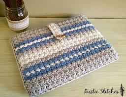 Crochet Home Decor Patterns Free 25 Best Crochet Laptop Case Ideas On Pinterest Crochet Clutch