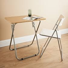 Small Folding Table And Chairs Table Design Folding Desk Folding Table Foldable Table Folding