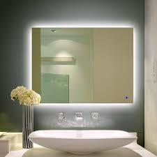 bathroom cabinets lighted vanity makeup mirror design lighted