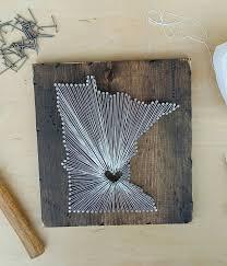 University Of Kentucky Home Decor Minnesota String Art State String Art Minnesota Nail Art