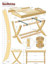 woodworking plans wooden folding table plans pdf plans