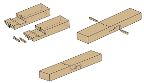 Woodworking Joints Plans by Scarf Woodworking Joints