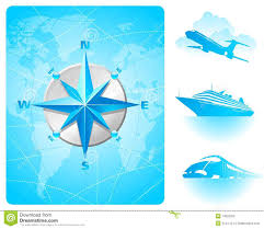Indonesia On A World Map by Compass Rose World Map U0026 Contemporary Transport Stock Photography
