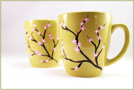 hand painted coffee mugs home design ideas