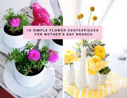10 mother u0027s day flower centerpiece ideas domino