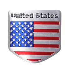 Picture Of The Us Flag Auto Styling Usa Flagge Metall Emblem Abzeichen Aufkleber