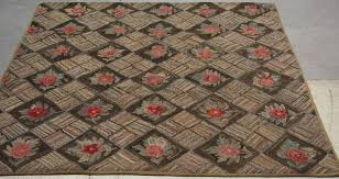 Burlap Rugs Hooked Antique And Vintage Rugs