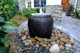 How To Make A Rock Patio by How To Make A Water Fountain Nytexas