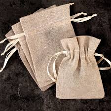 burlap drawstring bags mini linen burlap drawstring bags set of 12