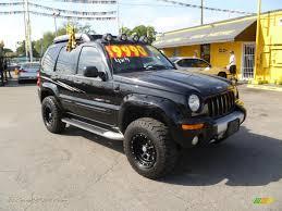 03 jeep liberty renegade 2003 jeep liberty renegade 4x4 in black clearcoat 538890 jax