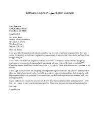 mechanical engineering cover letter examples mechanical engineer