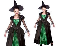 Witches Halloween Costumes Green Witch Costume Ladies Emerald Witches Halloween Fancy Dress