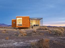 gallery a prefab retreat in the nevada desert nottoscale