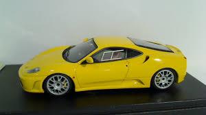 f430 challenge stradale f430 challenge stradale yellow handkrafts model