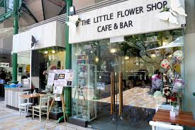 Flower Store The Little Flower Shop U2013 Floral Café At Lau Pa Sat