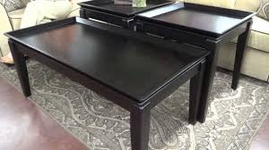 ashley furniture delormy table collection t131 13 review youtube
